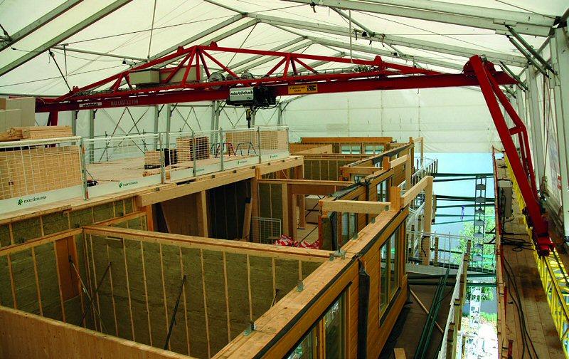 Moderner holzbau  Mehrgeschossiger Holzbau - gestern und heute - Informationsdienst Holz