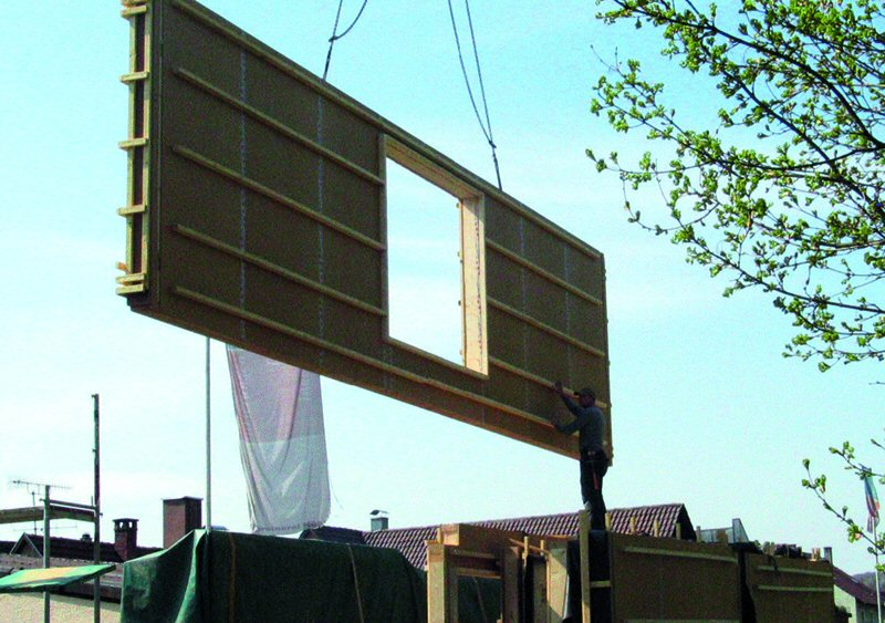 Holzskelettbau wandaufbau  Holzbausysteme - eine Übersicht - Informationsdienst Holz
