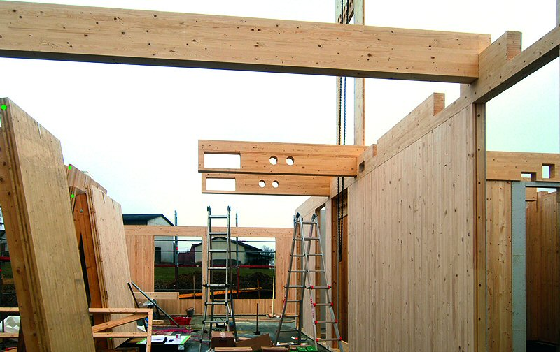Holzrahmenbau deckenanschluss  Holzbausysteme - eine Übersicht - Informationsdienst Holz